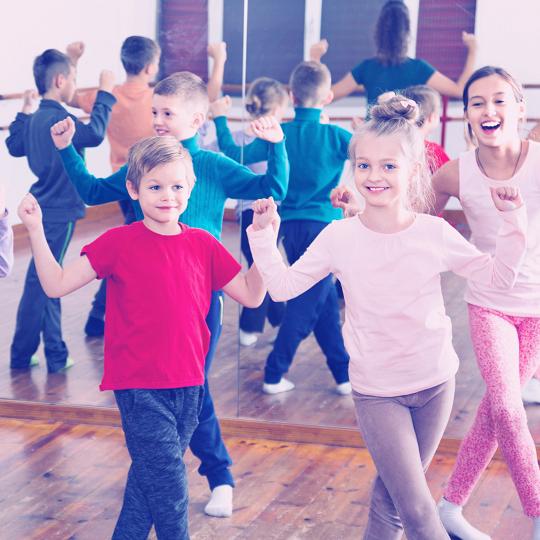 1 times undervisning i dans for børn - København