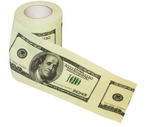 100 dollars-toiletpapir
