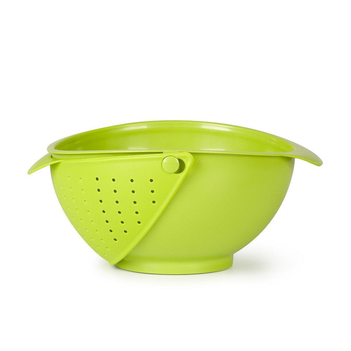 2i1-køkkenskål med si