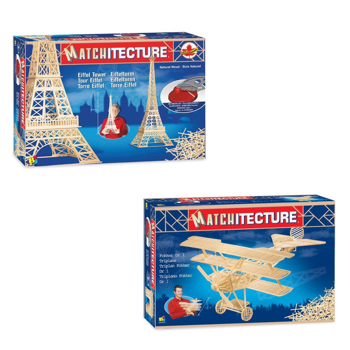 3D-byggesæt: Eiffeltårnet eller flyvemaskine