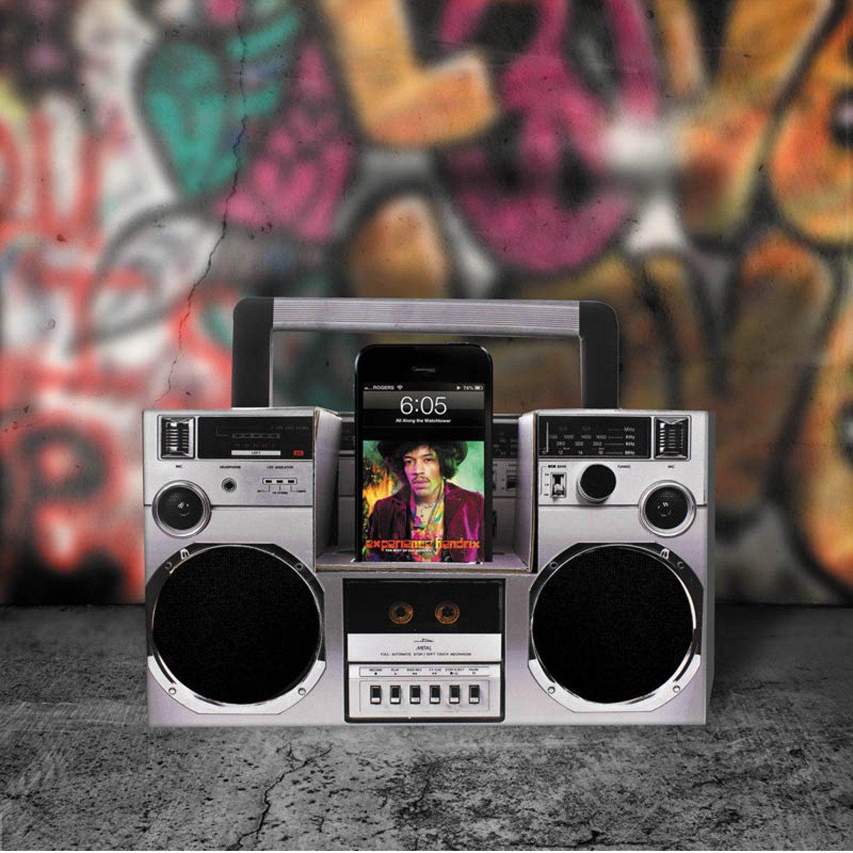 Akustisk gør-det-selv-boombox til smartphones