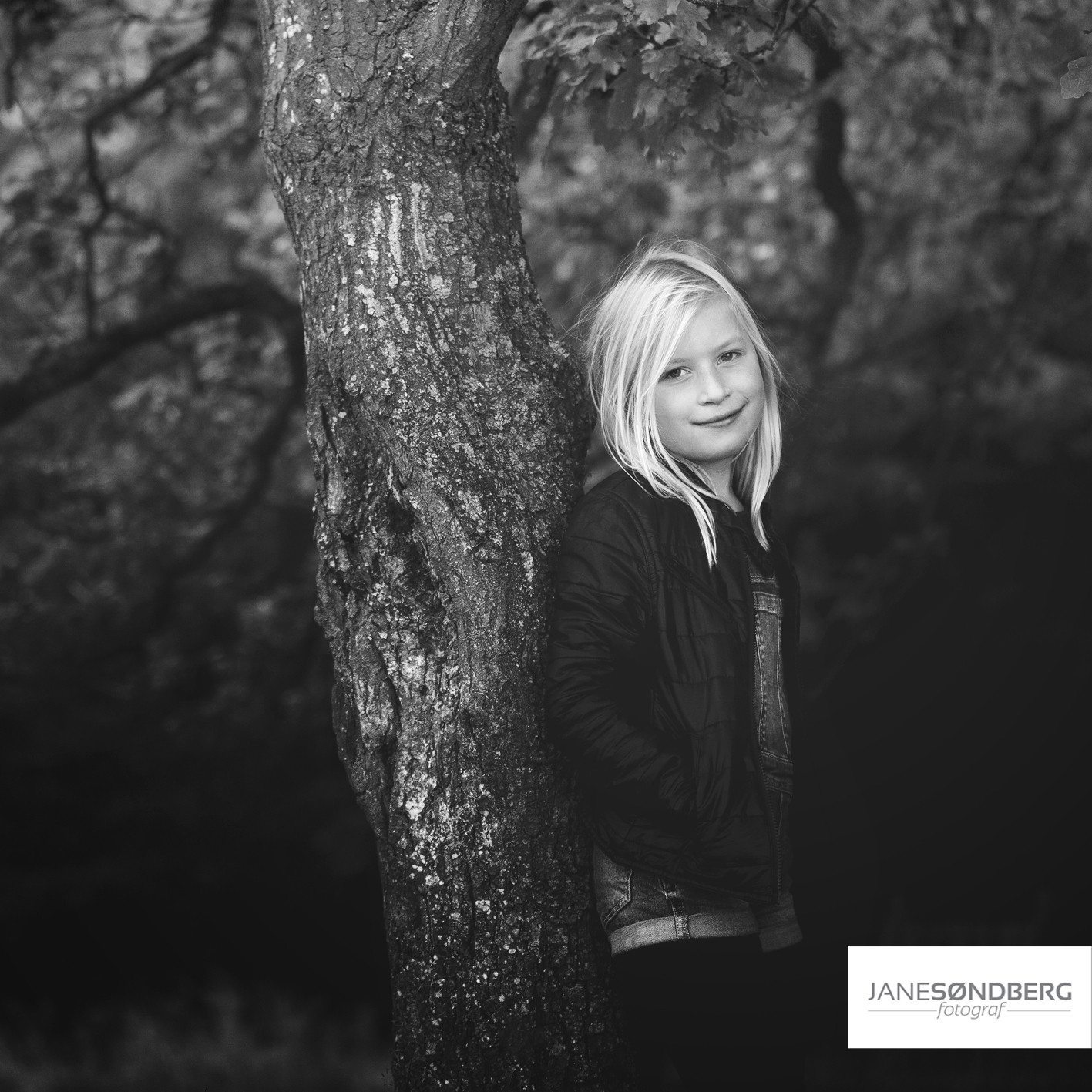 Barn/teen Photoshoot i det fri - Skanderborg