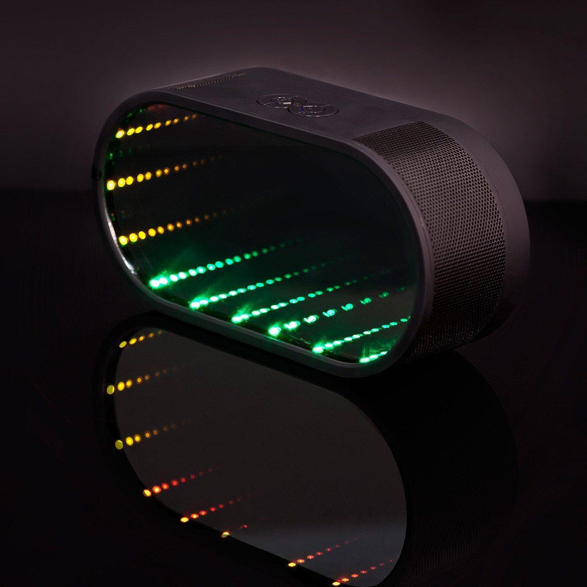Bluetooth-højtaler med LED-lys