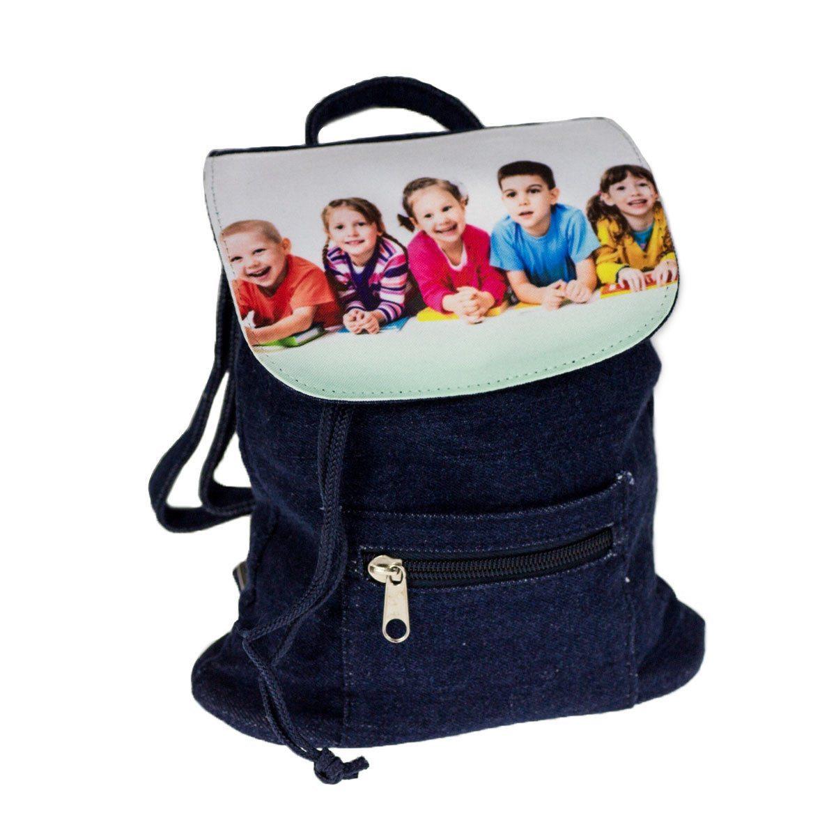 Børnerygsæk med personligt fototryk