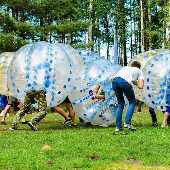 Bumperball for 8-20 personer - Brønderslev