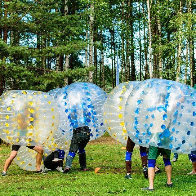 Bumperball for 8-20 personer - Fjerritslev