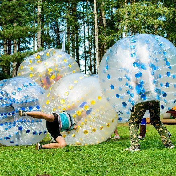 Bumperball for 8-20 personer - Ikast