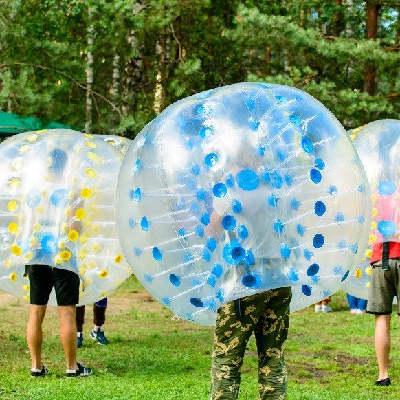 Bumperball for 8-20 personer - Rødding