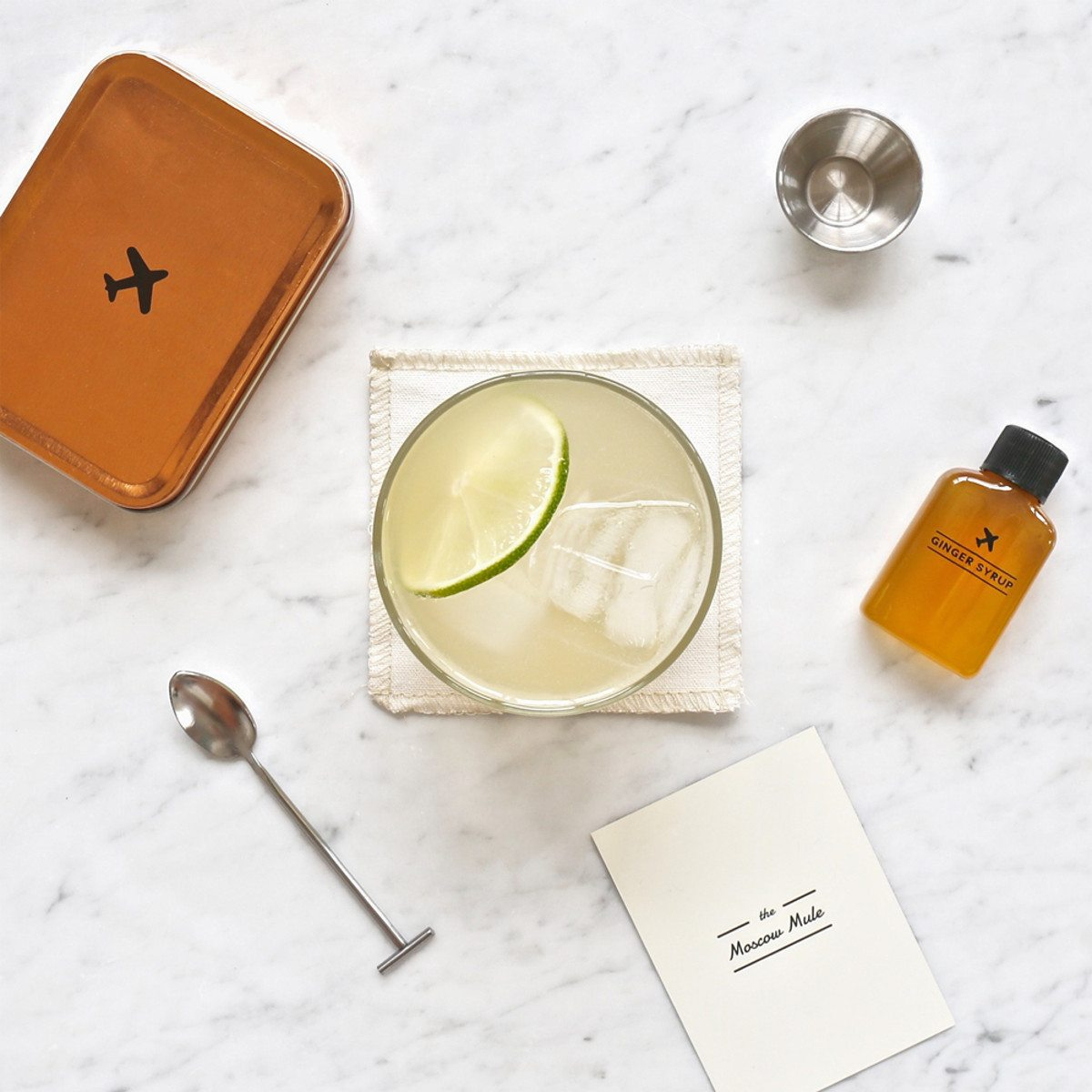 Cocktail to go – Reiseset - Moscow Mule - Dose - Scene