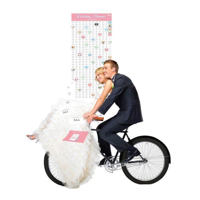 Countdown-kalender til bryllup