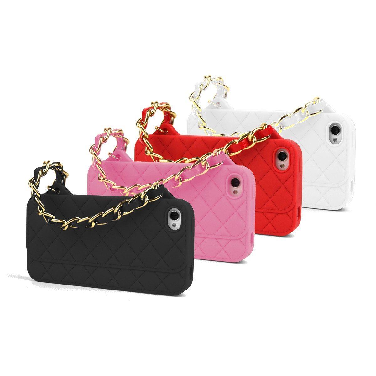 Cover til iPhone 4 & 4s som håndtaske