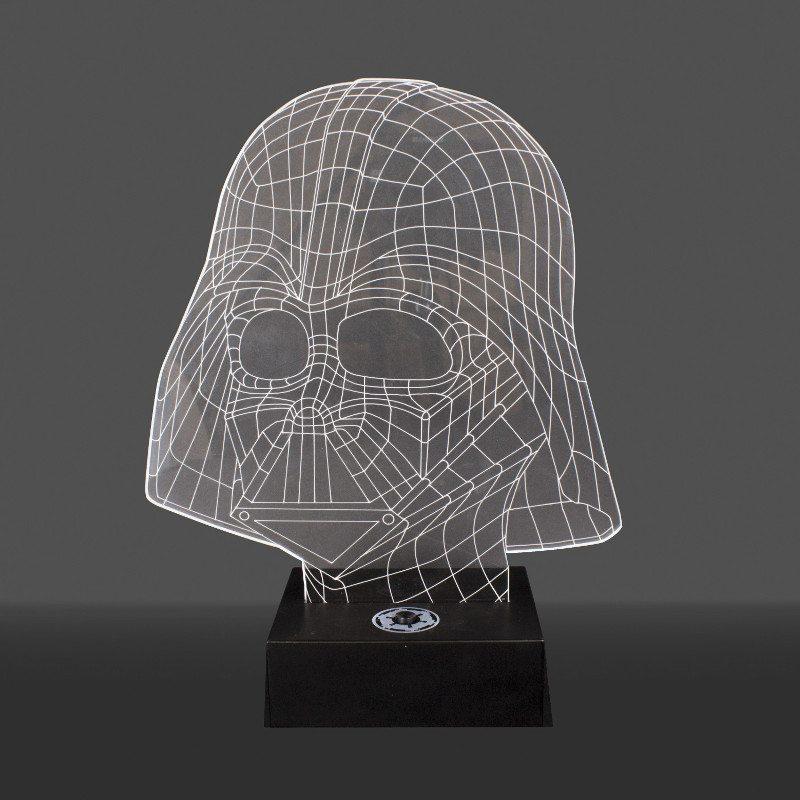 Darth Vader-lampe af akrylglas