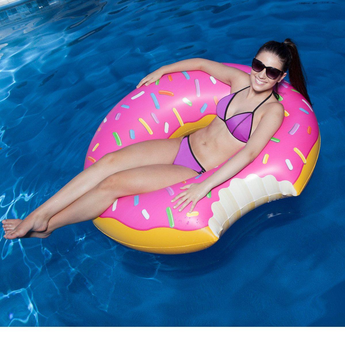 Donutformet badering