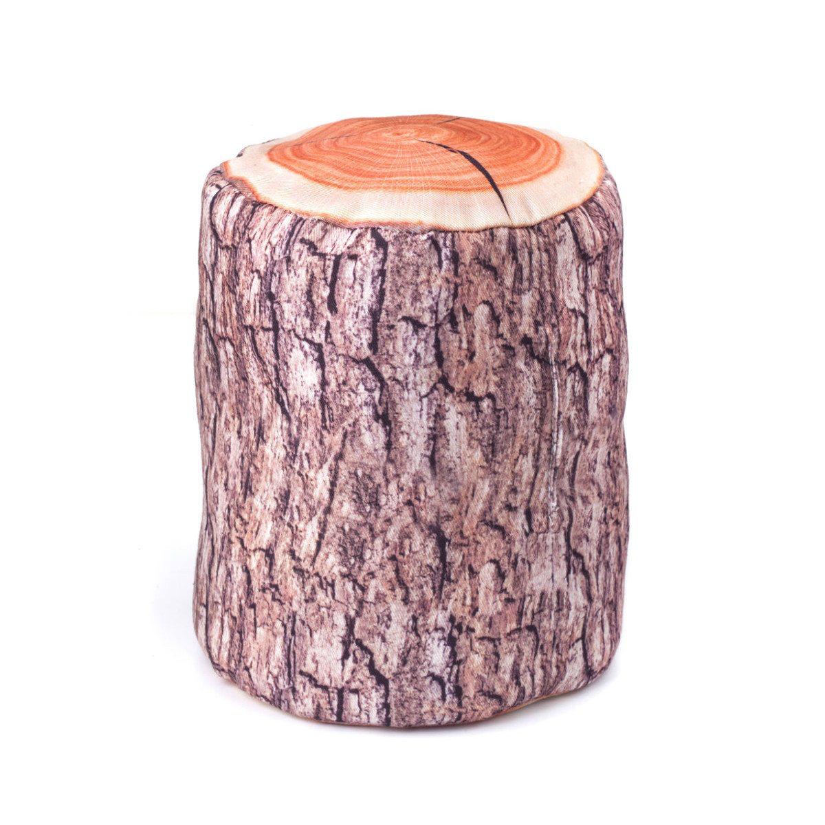 Dørstopper formet som en træstamme