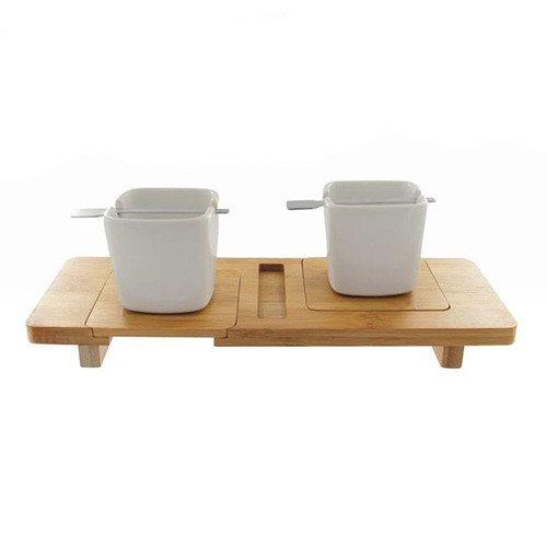 Espresso-sæt i bambus