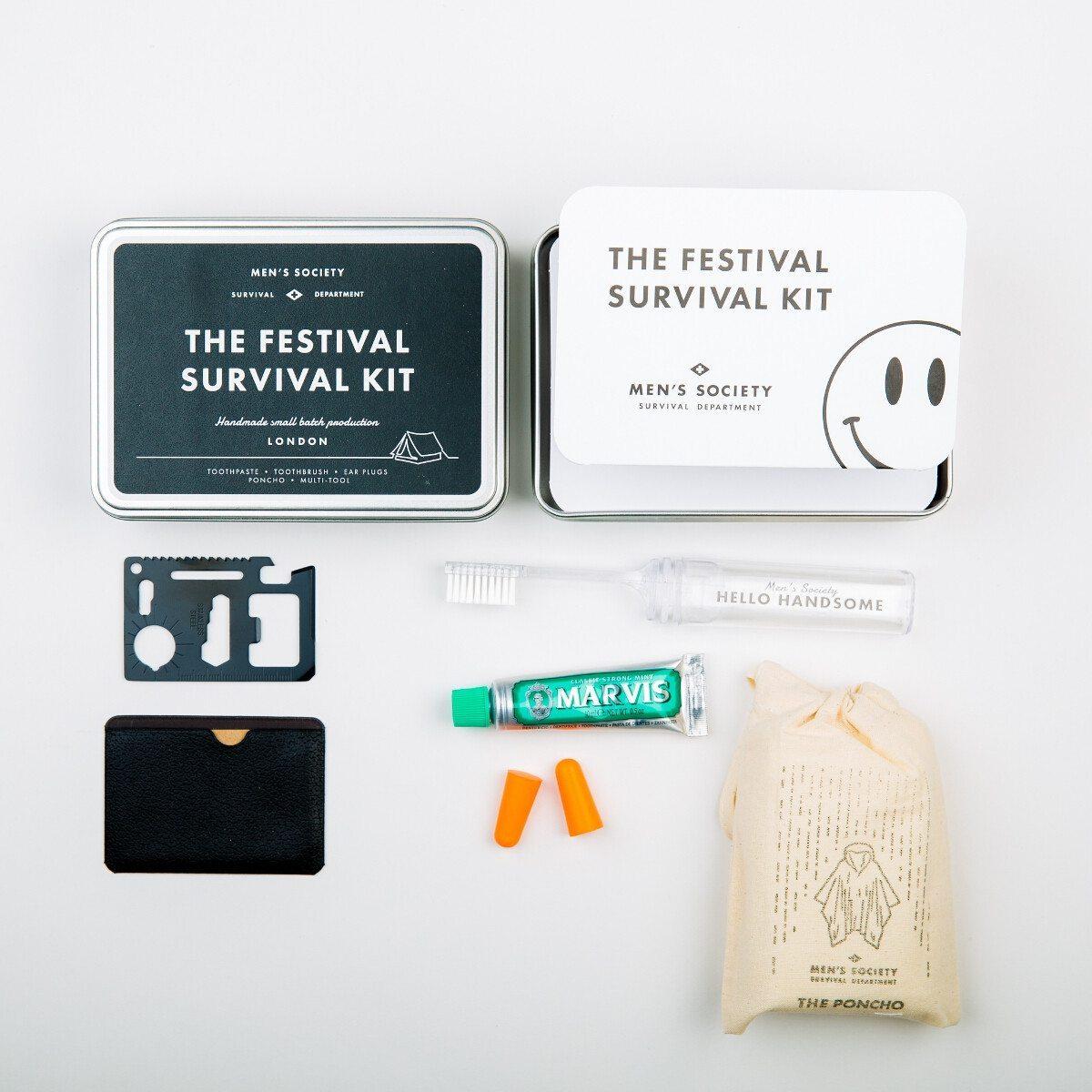 Festival-Survival-Kit für ihn - Vollansicht