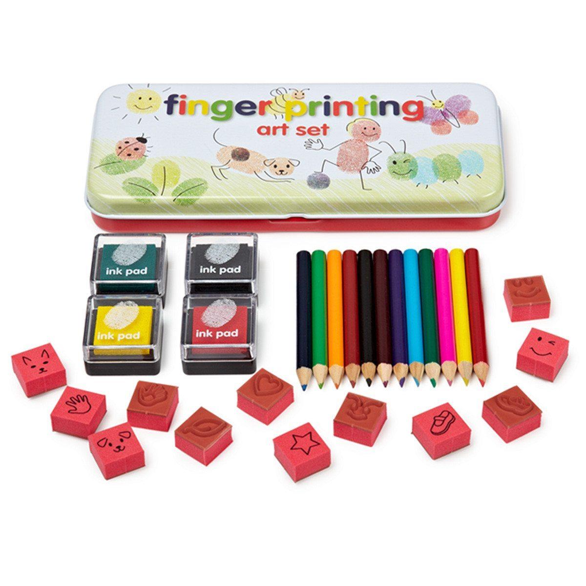 Fingerstempel-sæt