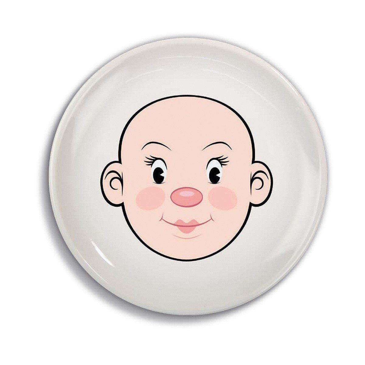 Food Face-tallerken