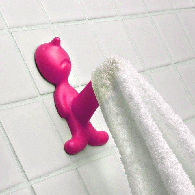 Fræk håndklædeholder