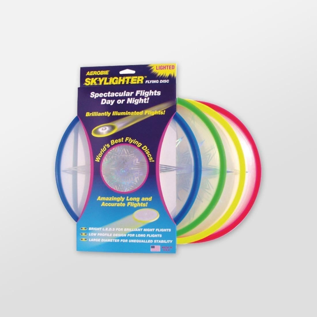 Frisbee med LED-lys