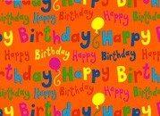 Gavepapir til fødselsdagsgaver