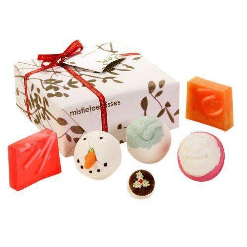 Gavesæt: badeprodukter i juletema