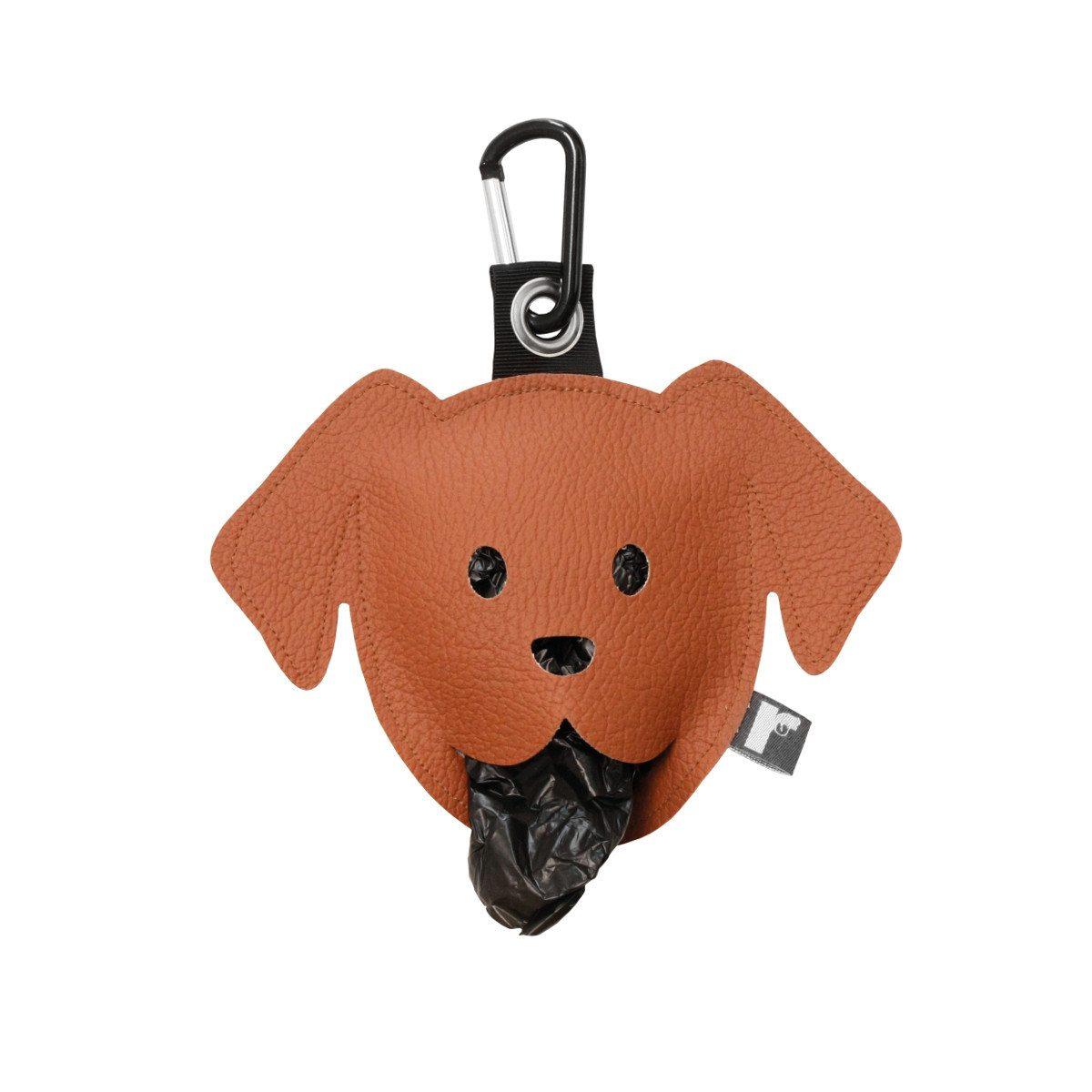 Goodie zum Gassi-Gehen: Der Hundebeutelspender braun