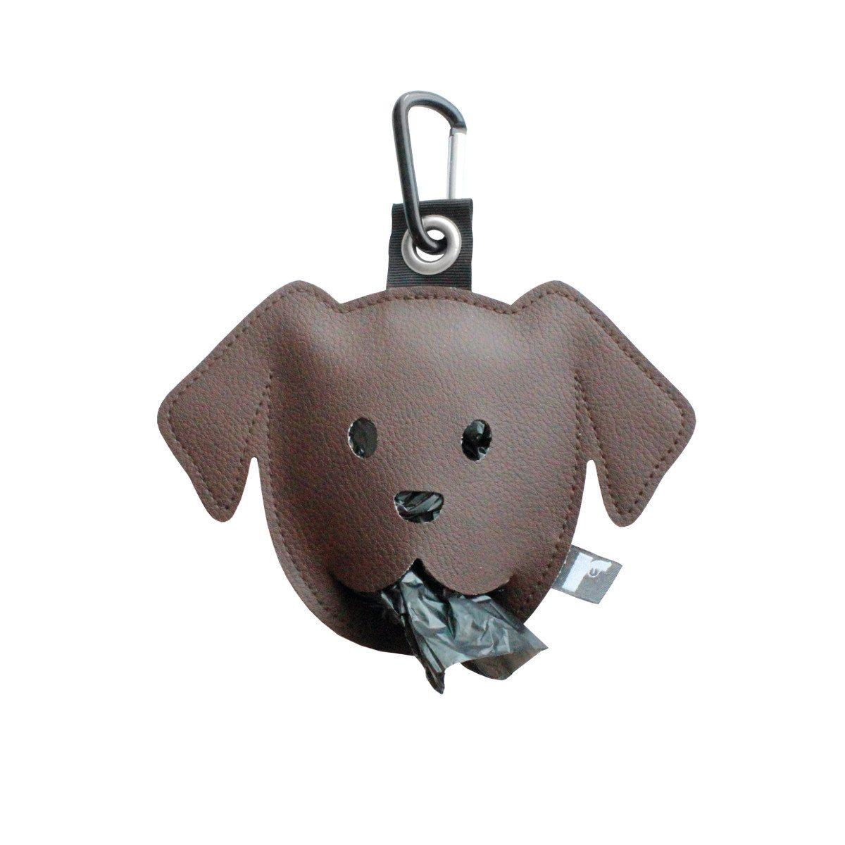 Goodie zum Gassi-Gehen: Der Hundebeutelspender dunkebraun