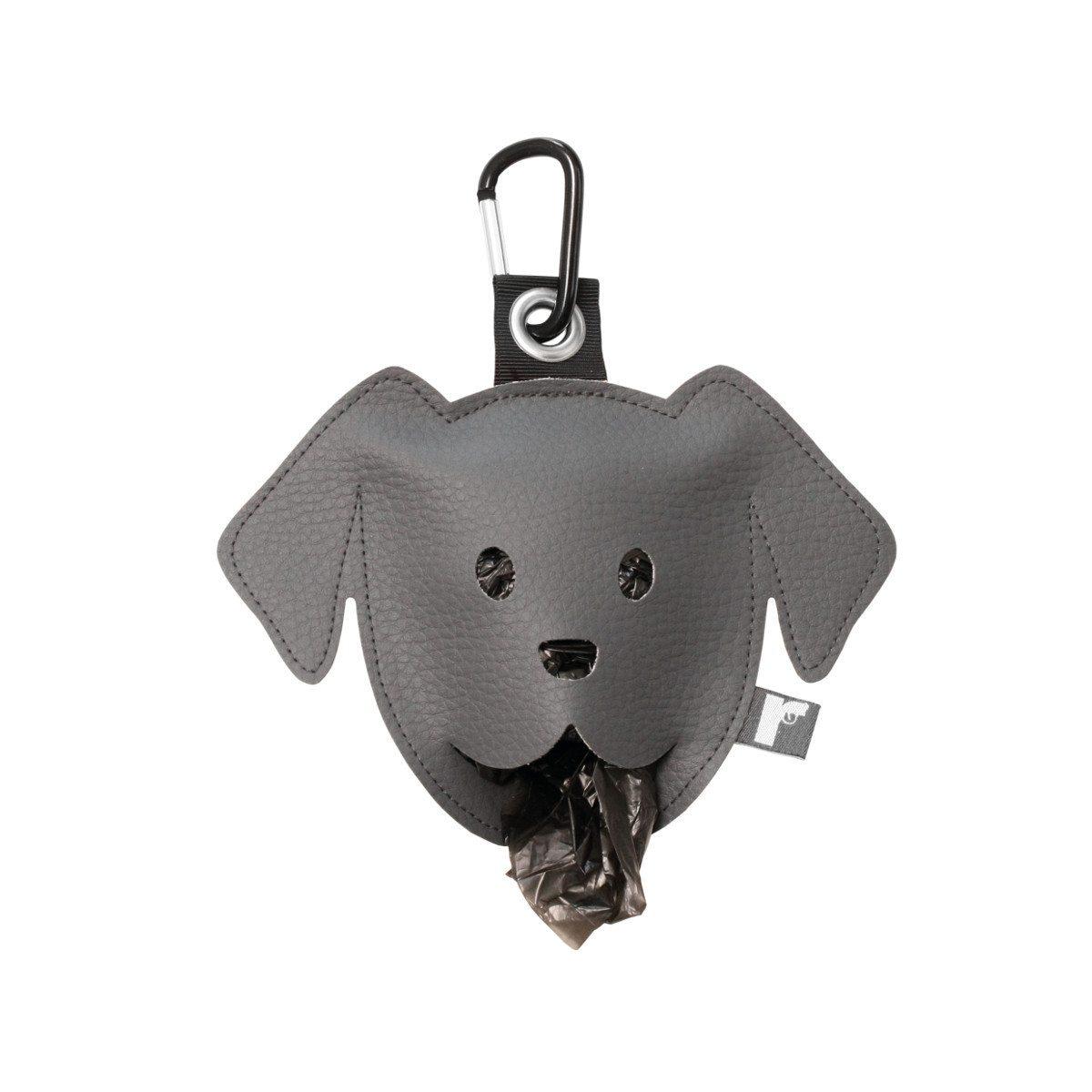 Goodie zum Gassi-Gehen: Der Hundebeutelspender grau