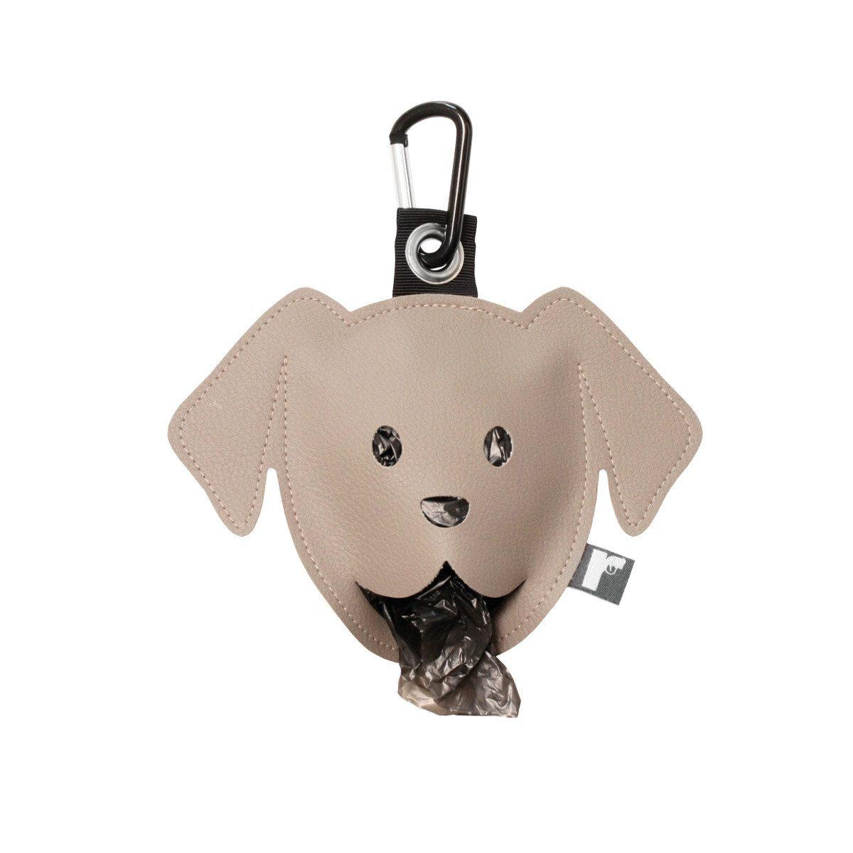 Goodie zum Gassi-Gehen: Der Hundebeutelspender hellbraun