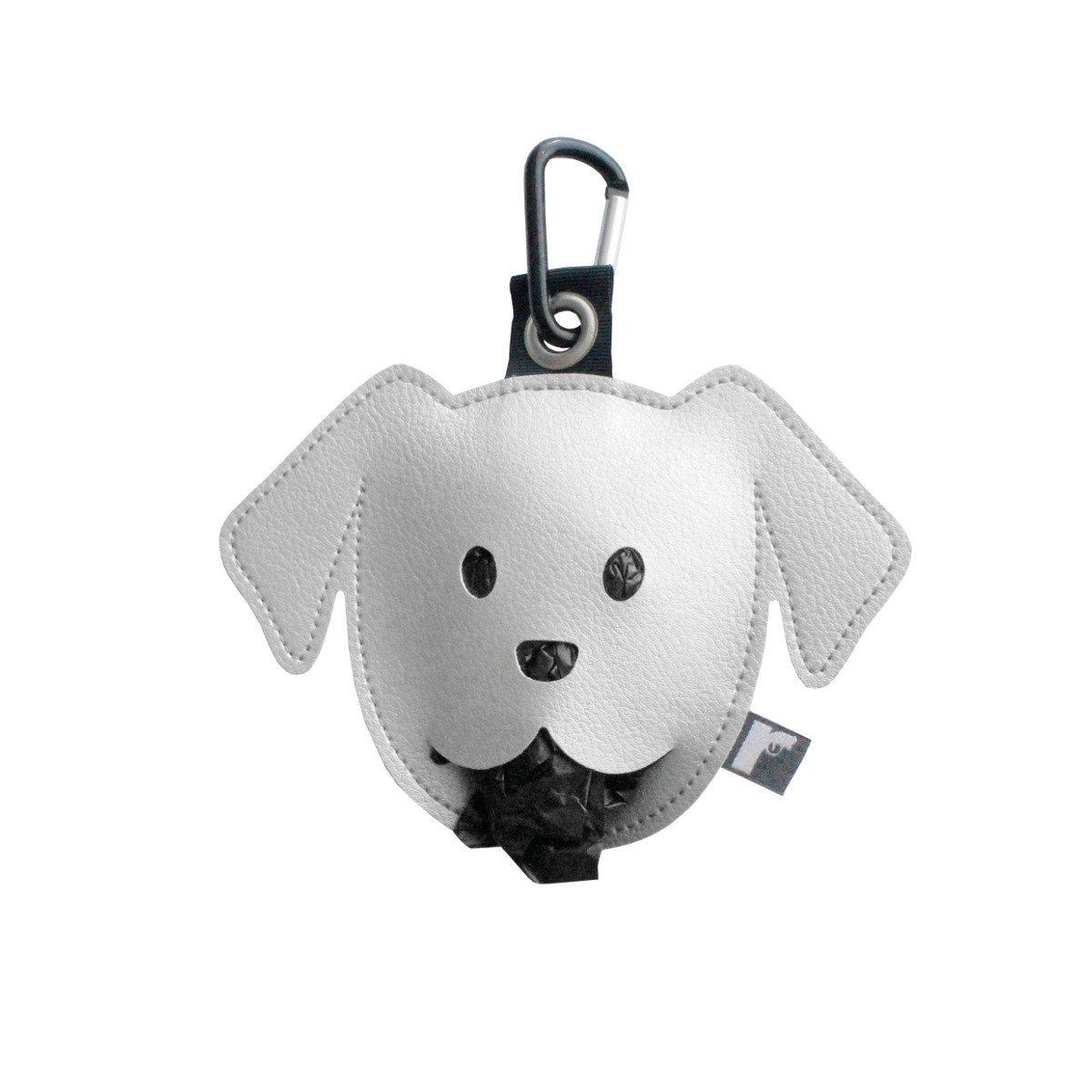 Goodie zum Gassi-Gehen: Der Hundebeutelspender silber