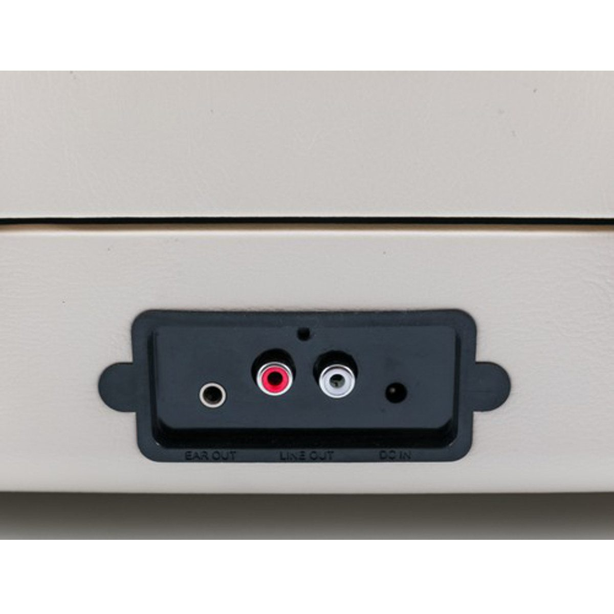 GPO Ambassador - Bluetooth Koffer-Plattenspieler Anschlüsse
