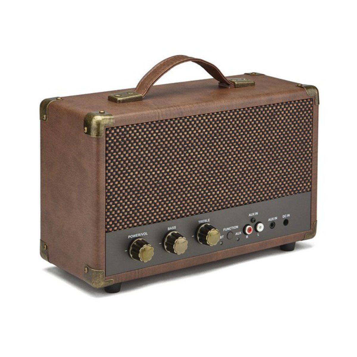GPO Compact Bluetooth Lautsprecher Braun