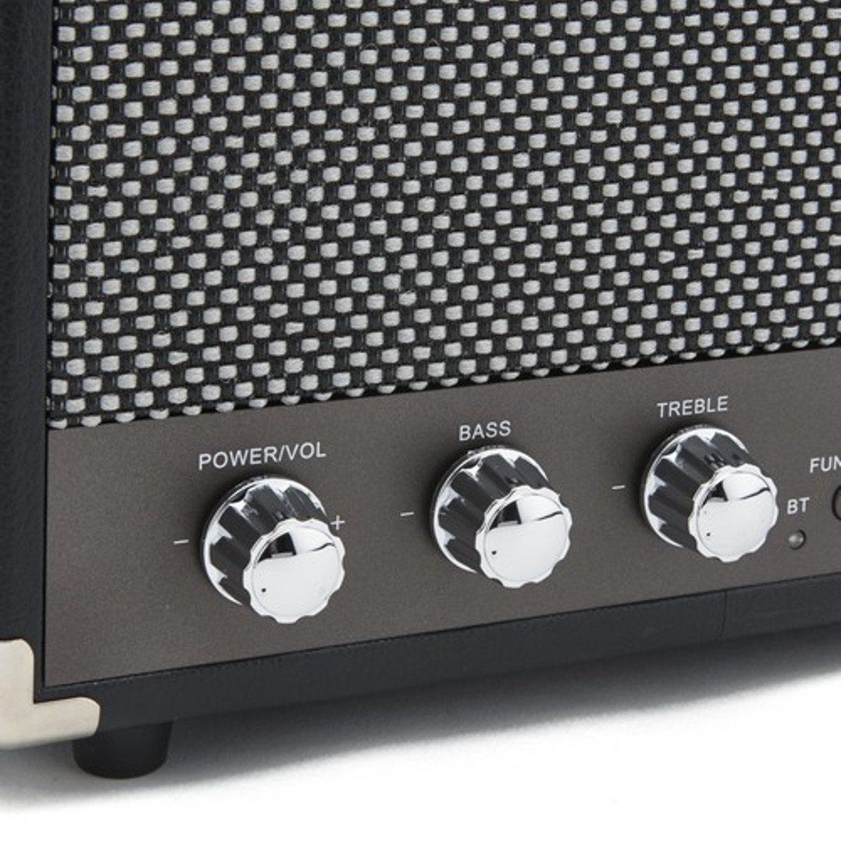 GPO Compact Bluetooth Lautsprecher Schwarz