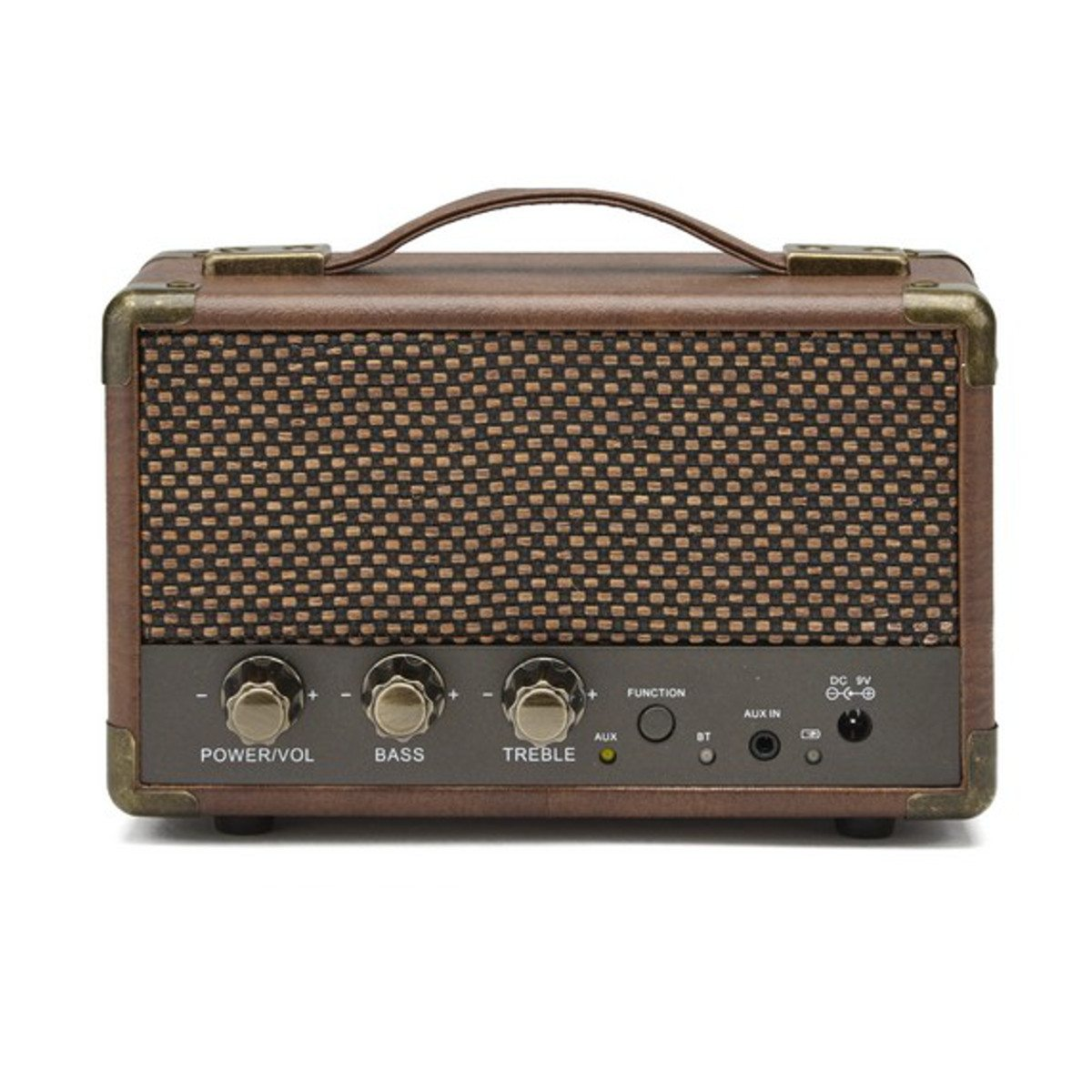 GPO Westwood Mini-Bluetooth-Lautsprecher Braun