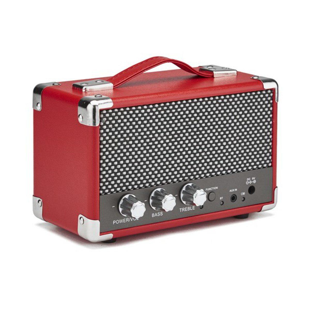GPO Westwood Mini-Bluetooth-Lautsprecher Rot