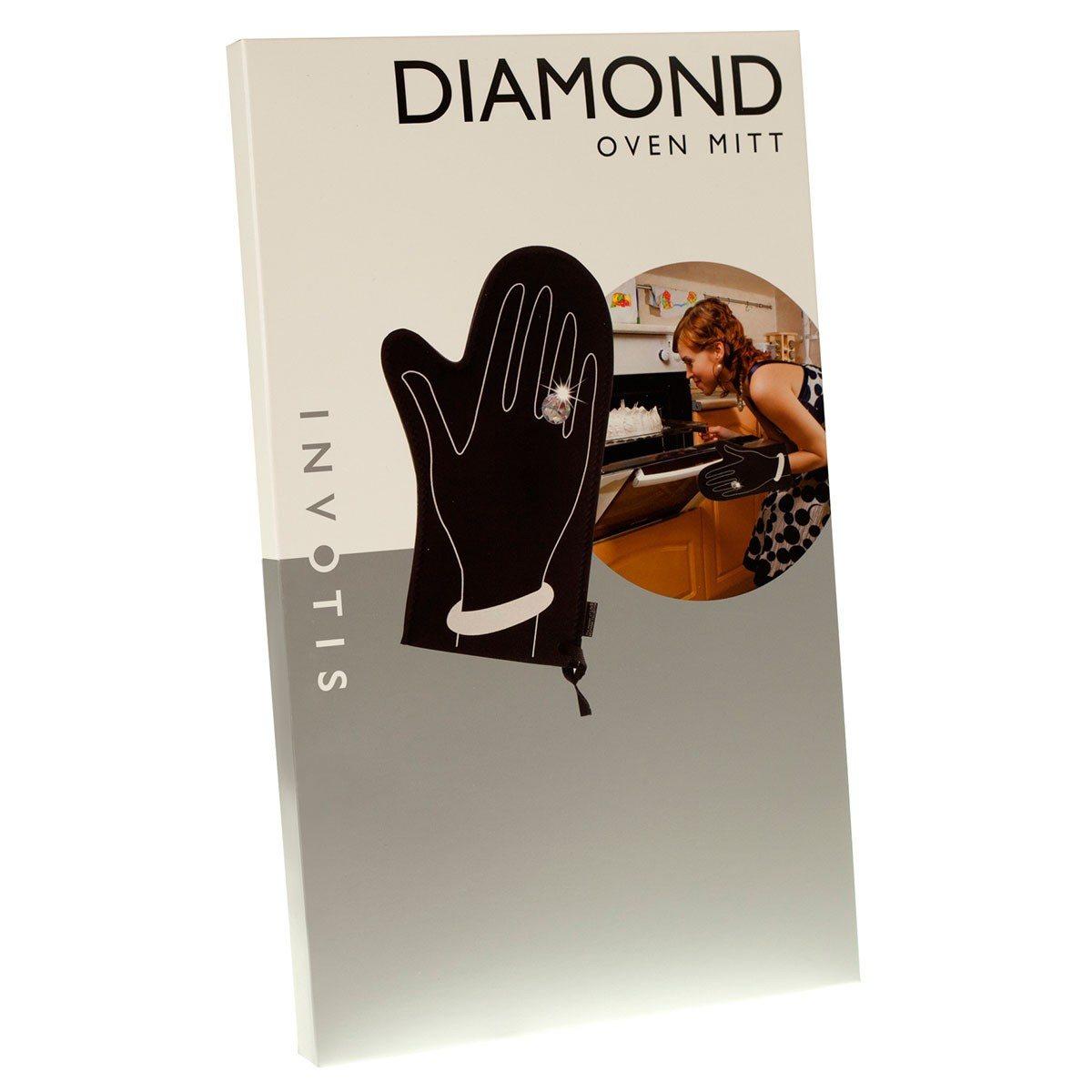 Grillhandske med diamant
