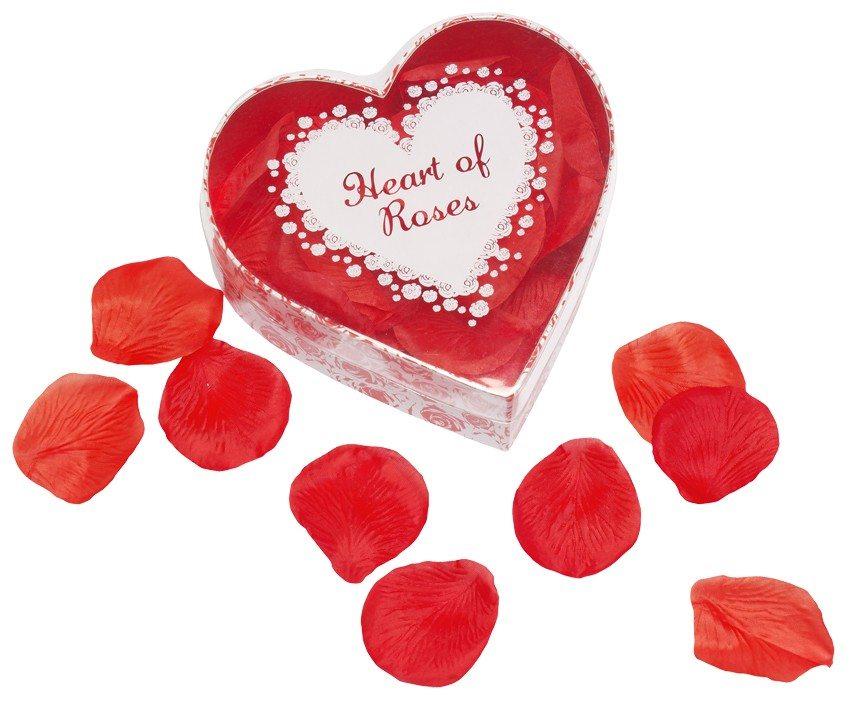 Hjerte med rosenblade