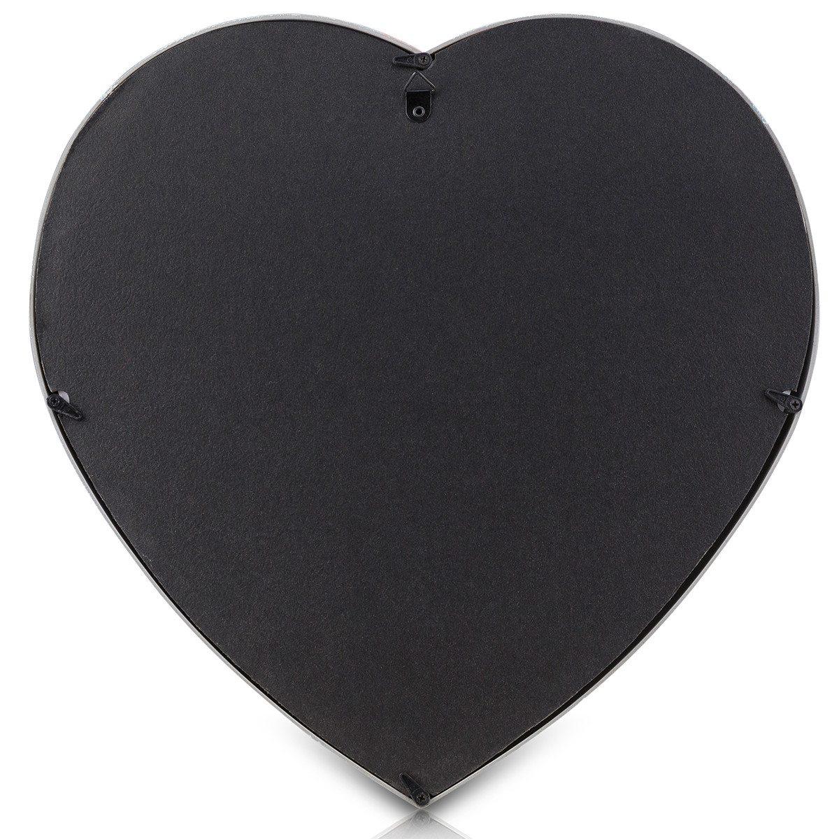 Hjerteformet billedramme