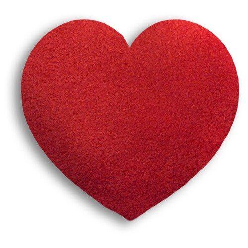 Hjerteformet varmepude