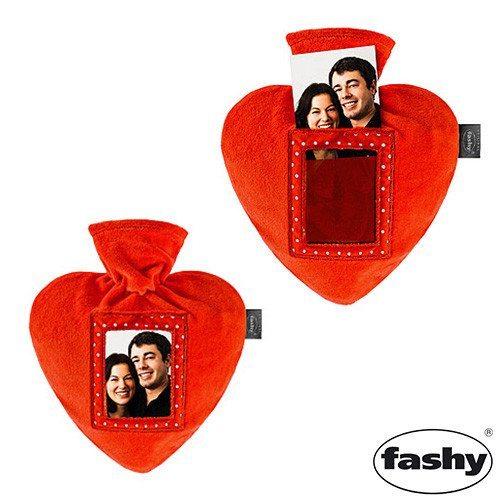 Hjertevarmedunk med billede