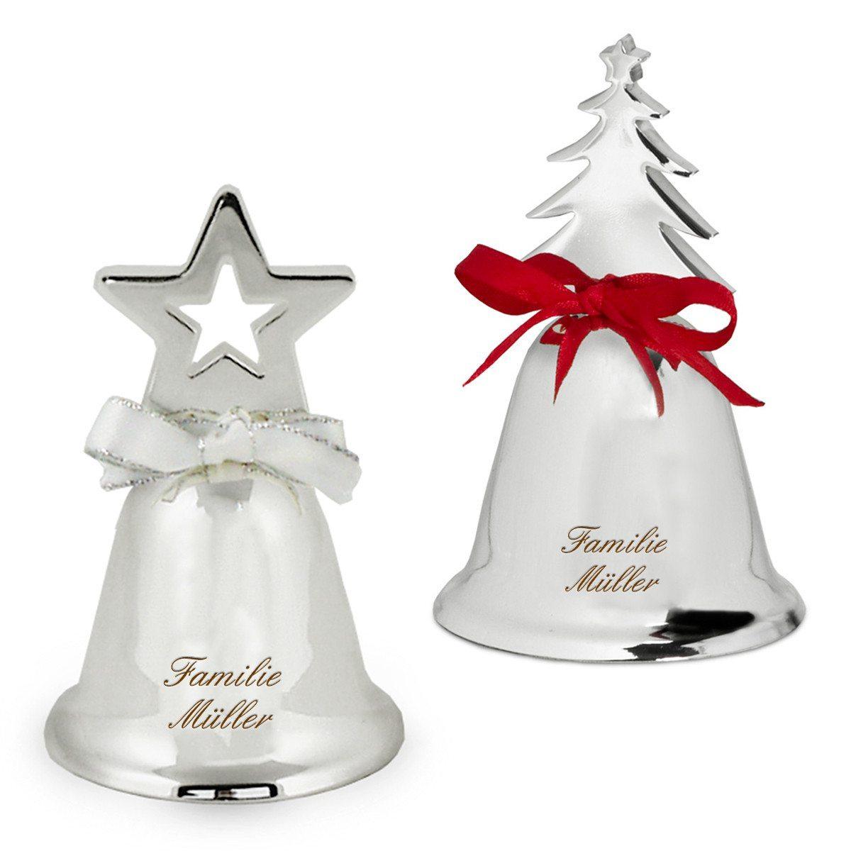 Juleklokke med indgravering