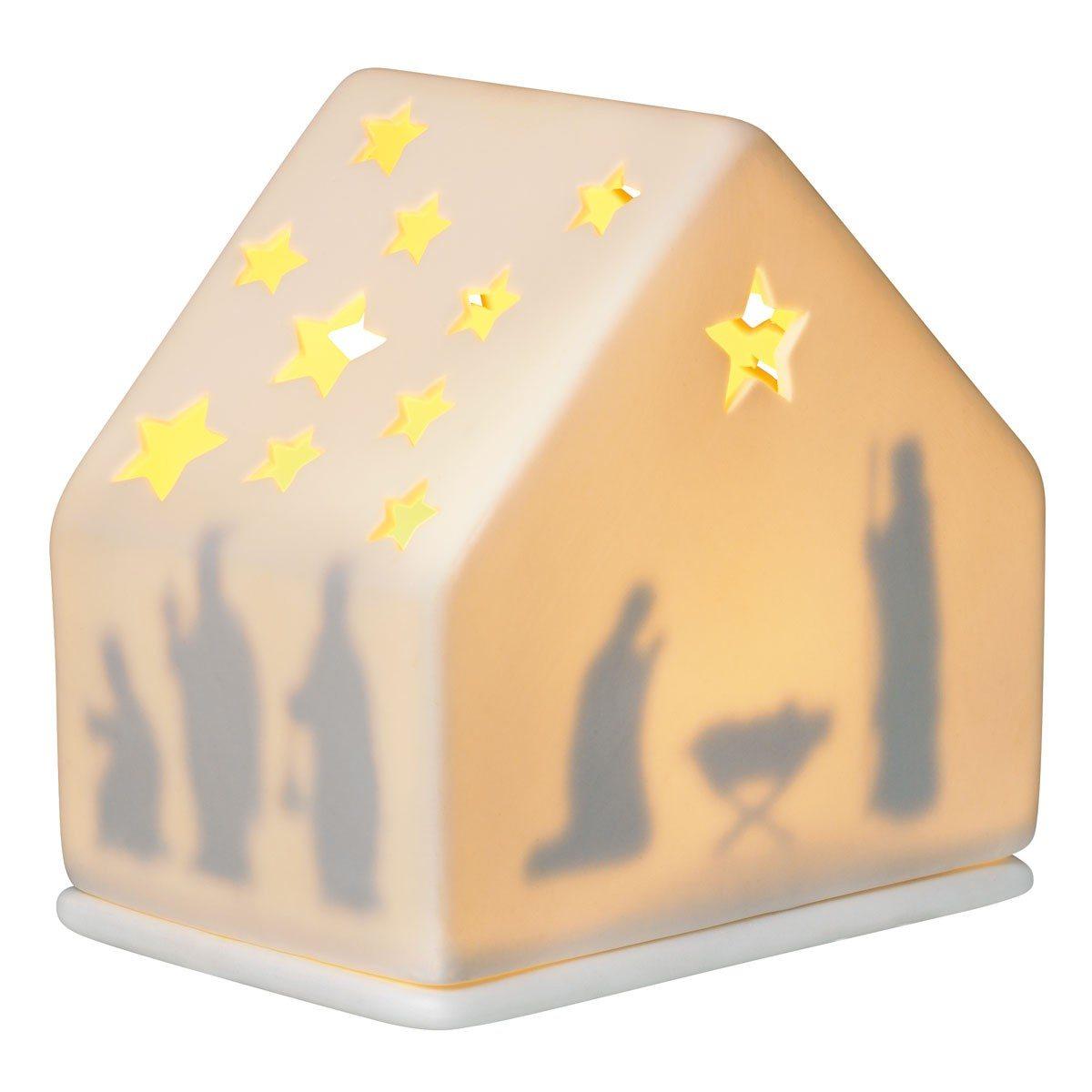 Julelanterne med stjernehimmel
