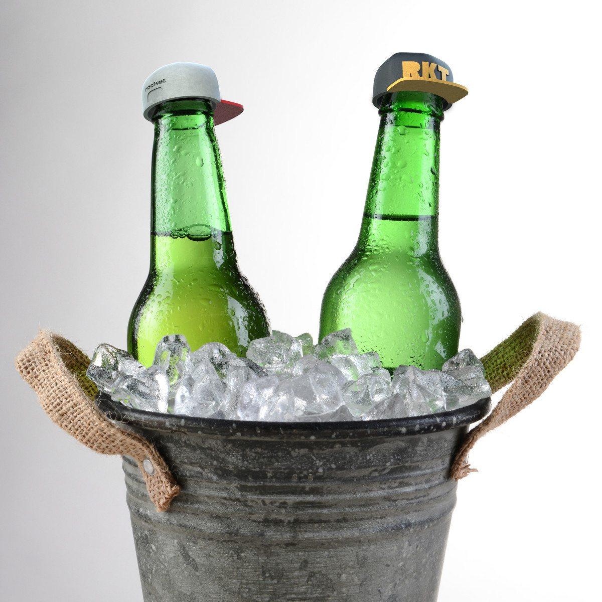 Kasket-prop til flasker