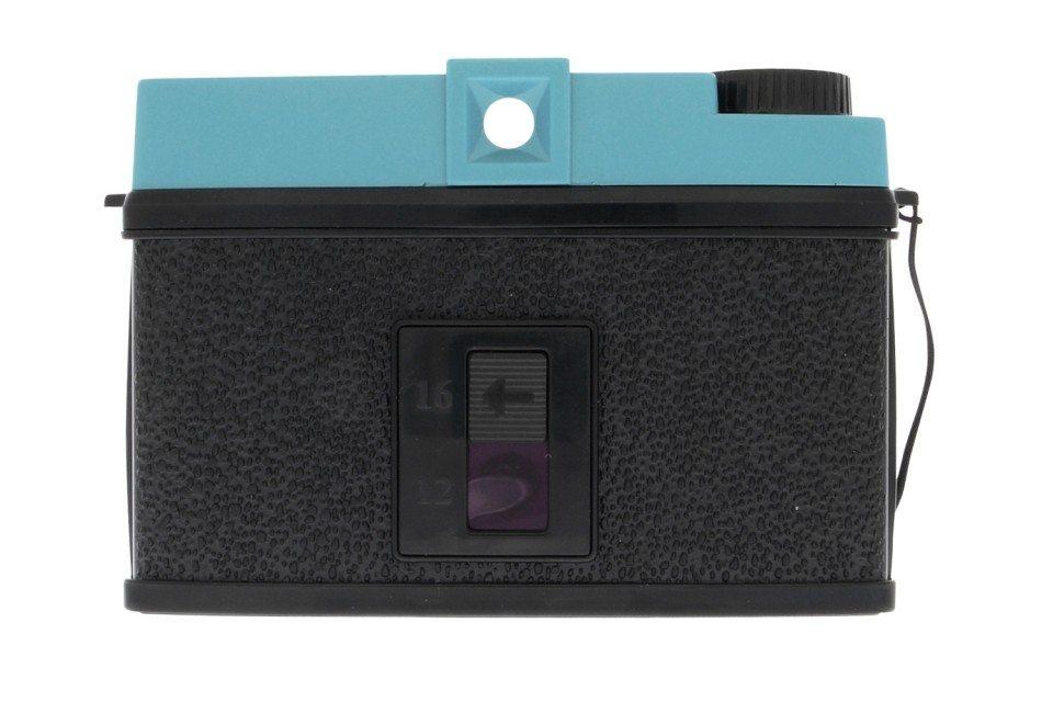 Klassisk retrokamera uden blitz