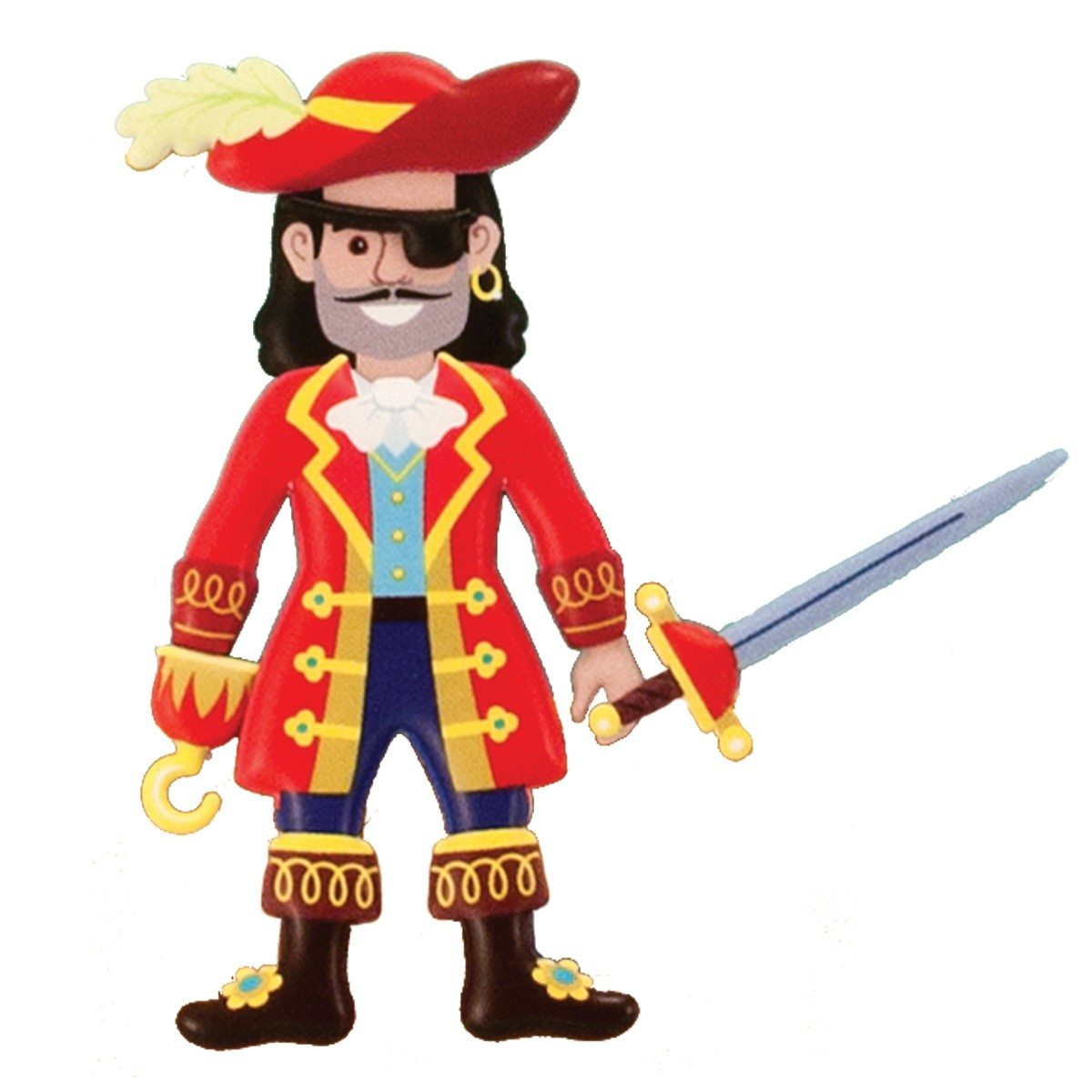 Klistermærkesæt med pirater