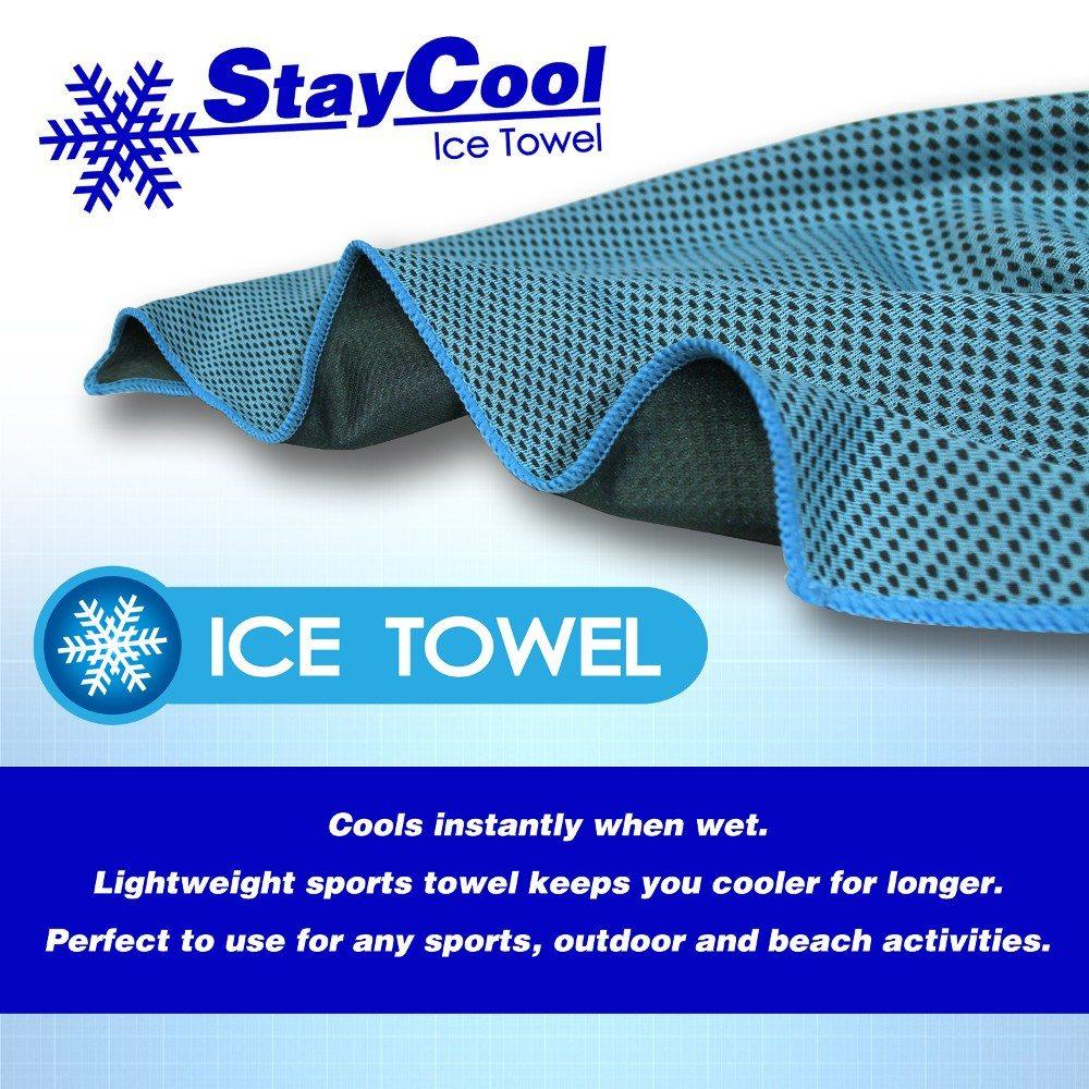 Kølende håndklæde