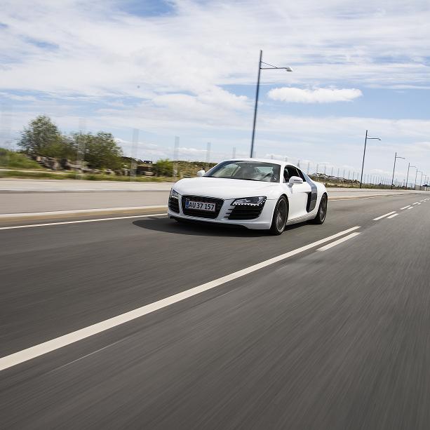 Kør Audi R8 - Århus