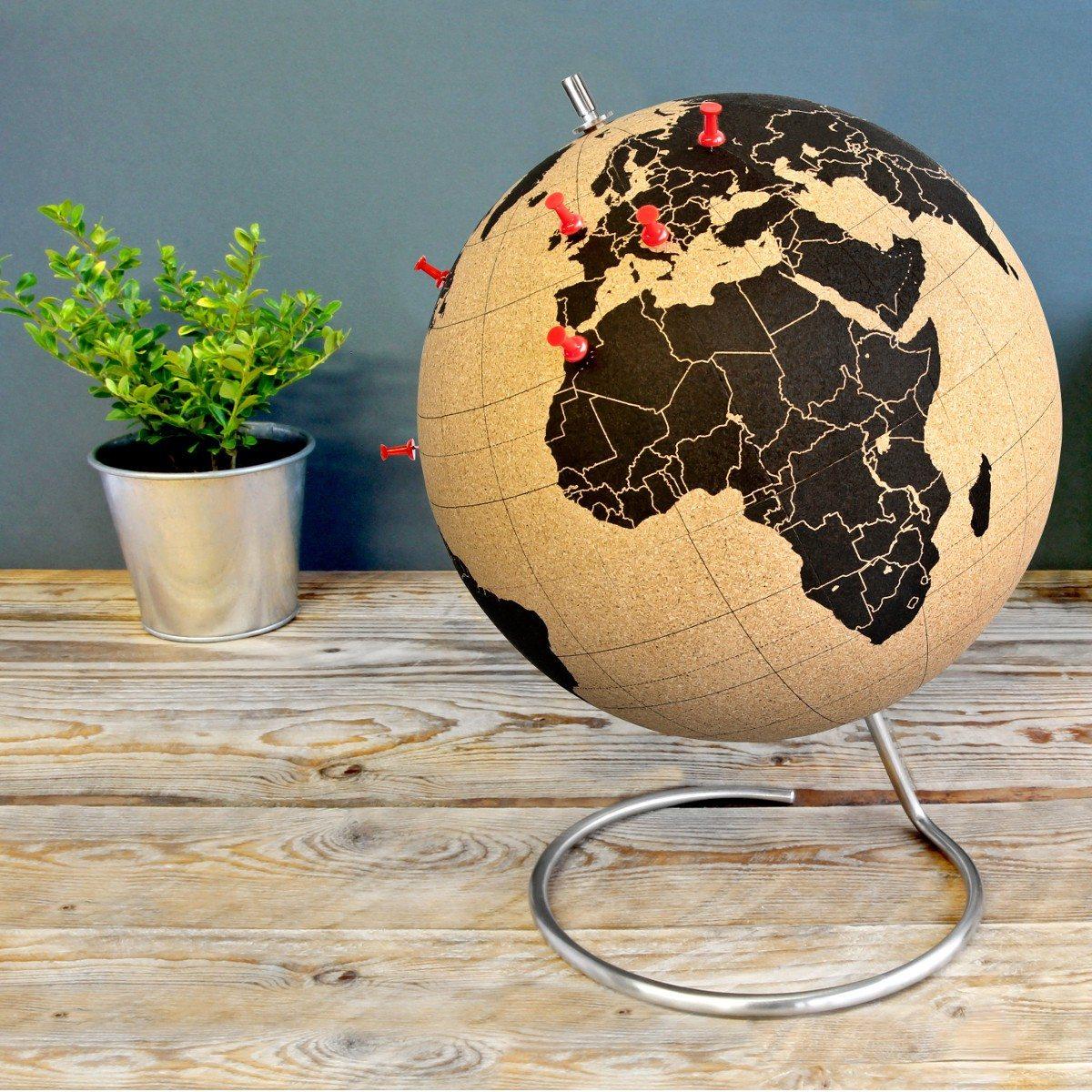 Kork-globus