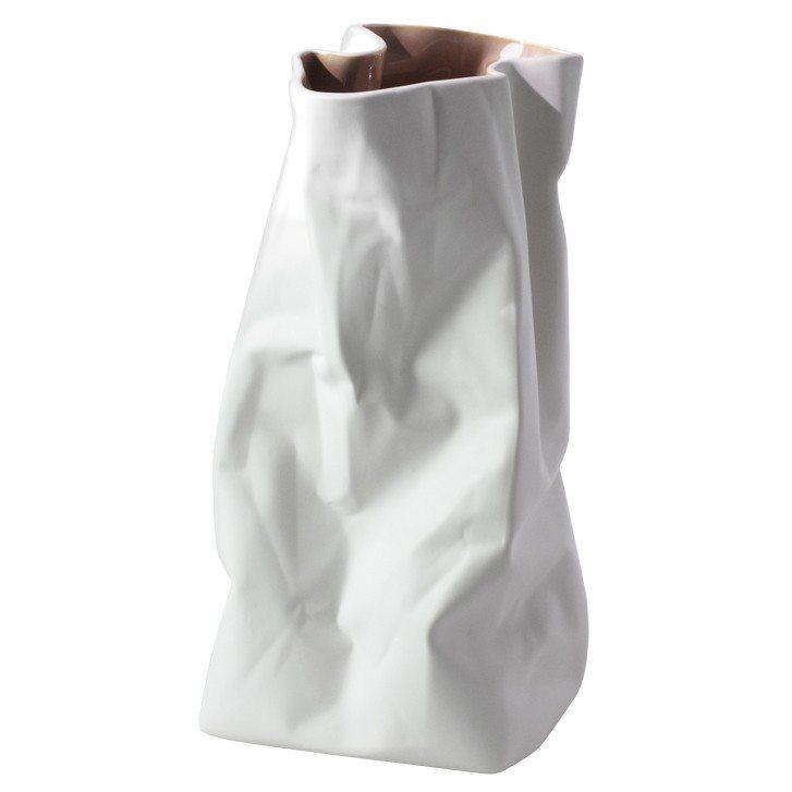 Krøllet papir-vase